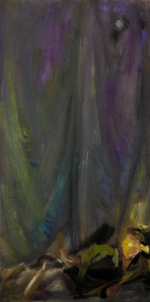 Stage Odaliske oil on canvas50 x 100 cm