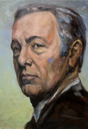 kevin spacey portrait by cornelia es said