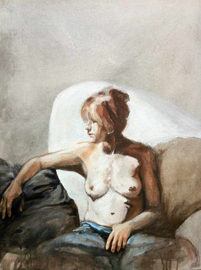 modern woman II by artist cornelia es said