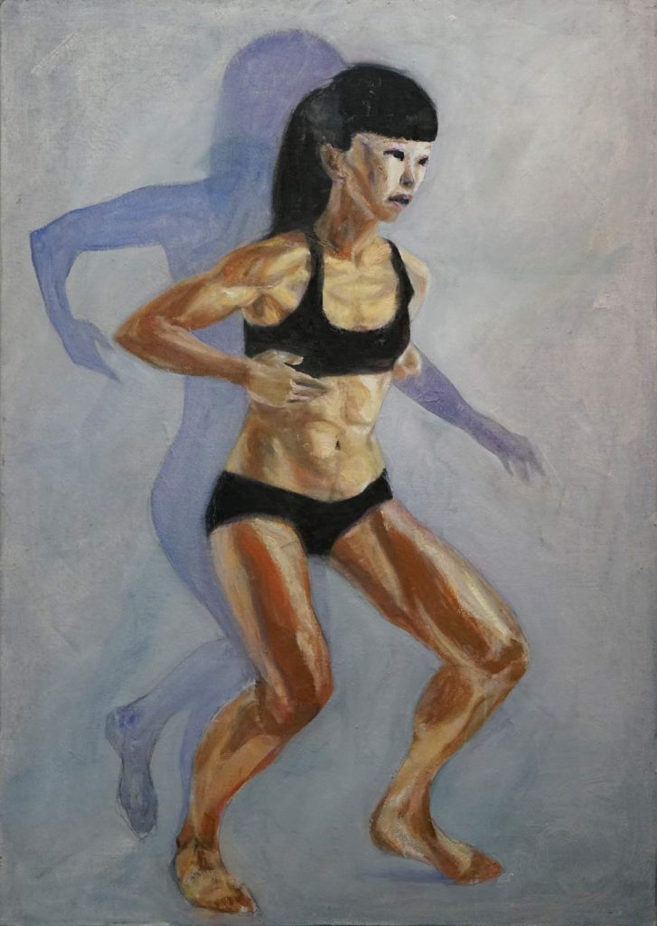 asian - dancer series by cornelia es said 2018